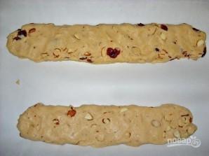 Бискотти с миндалем и клюквой - фото шаг 4
