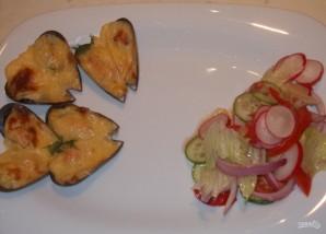 Мидии под сырным соусом - фото шаг 9