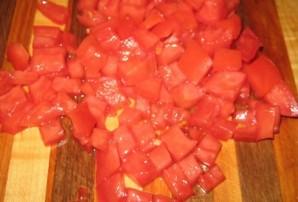 Салат с копченым колбасным сыром - фото шаг 3
