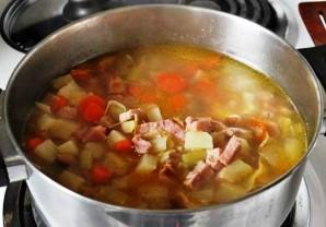 Картофельный суп с ветчиной - фото шаг 4