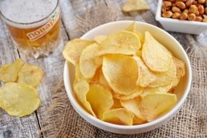 Хрустящие картофельные чипсы  - фото шаг 9