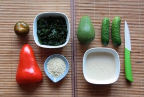 Cыроедческие суши - фото шаг 2