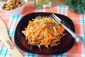 Морковь по-корейски с опятами - фото шаг 14