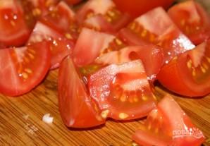 """Греческий салат"" с брынзой - фото шаг 4"
