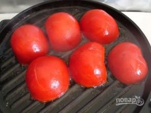 Лосось в сливках с помидорами гриль - фото шаг 9