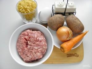 Суп с фрикадельками (ленивый) - фото шаг 1