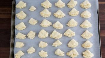 Песочное печенье с творогом - фото шаг 10