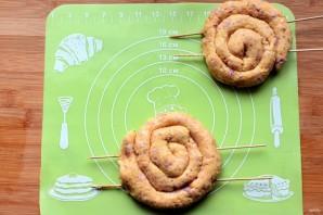 Картофельные колбаски с ветчиной - фото шаг 4