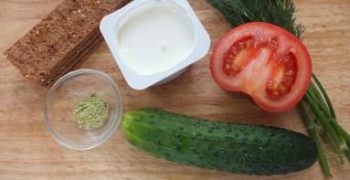 Диетические бутерброды - фото шаг 1
