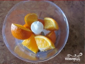 Апельсиновый пирог без яиц - фото шаг 2