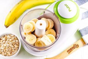 Диетические батончики с бананом