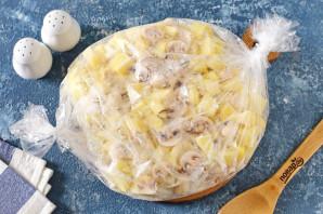 Диетическая картошка с грибами - фото шаг 6