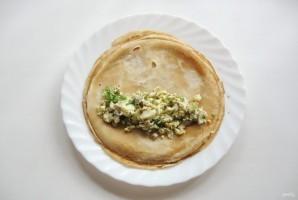 Кулебяка с грибами и яйцами - фото шаг 15