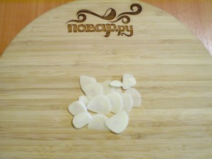 Жареные кабачки кружочками с чесноком - фото шаг 5