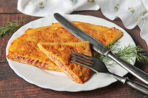 Бризоль с сосиской и сыром - фото шаг 10
