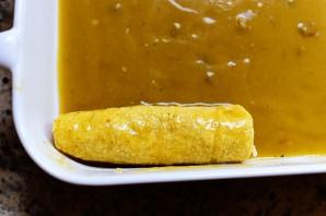 Энчиладас с курицей и сыром - фото шаг 12