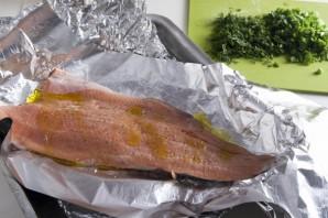 Филе горбуши в духовке - фото шаг 2