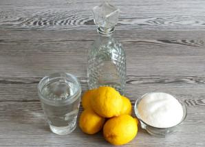 Настойка на лимоне