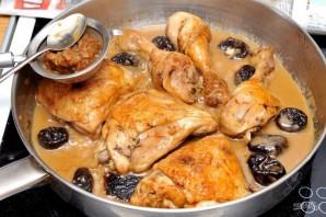 Курица с черносливом по-мароккански - фото шаг 9