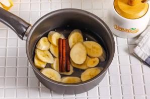 Банановый настой с корицей - фото шаг 4