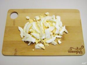 Салат к белому вину - фото шаг 1
