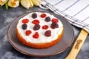 Торт с замороженными ягодами - фото шаг 7
