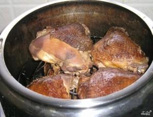 Курица горячего копчения - фото шаг 4