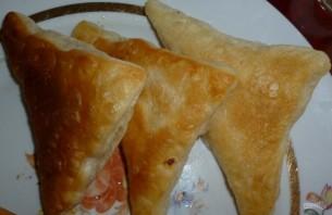 Слоеное тесто бездрожжевое на сковороде - фото шаг 7