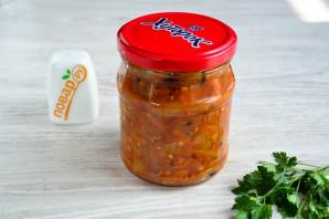 Икра из болгарского перца и помидор - фото шаг 14