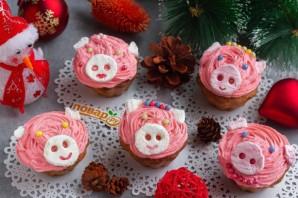 """Лимонные кексики """"Розовые свинки"""" - фото шаг 10"""