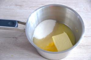 Лимонный торт с белковым кремом - фото шаг 11