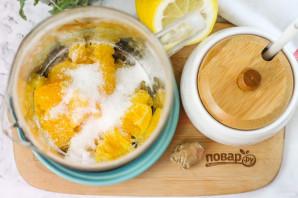 Апельсиновый чай с имбирем - фото шаг 3