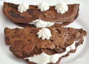 Шоколадный омлет - фото шаг 6