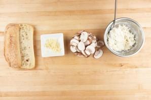 Лазанья с сосисками и шампиньонами - фото шаг 1