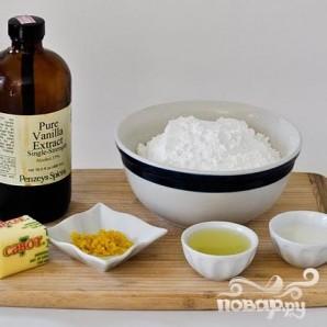 Лимонные капкейки с кремом - фото шаг 2