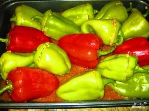 Фаршированный болгарский перец в духовке - фото шаг 6