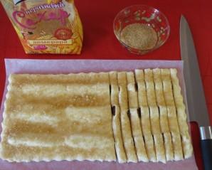 Банановые слойки - фото шаг 4
