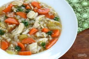 Куриный суп с перловкой - фото шаг 6