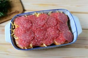 Пицца в мягких булочках - фото шаг 4