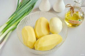 Картофель с луком - фото шаг 1
