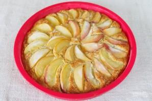 Овсяный пирог с персиками - фото шаг 8