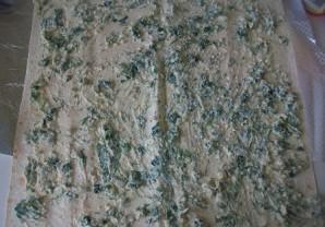 Лаваш с огурцом и сыром - фото шаг 6