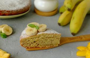 Йогуртовый пирог с бананами - фото шаг 7
