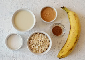 Каша с арахисовой пастой - фото шаг 1