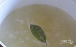 Суп сырный с креветками - фото шаг 2