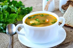 Овощной суп на мясном бульоне - фото шаг 13