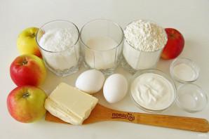 Яблочно-кокосовый пирог - фото шаг 1