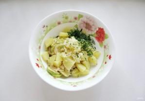Салат с кабачками и баклажанами - фото шаг 10