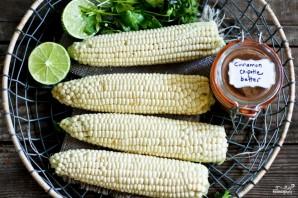 Кукуруза на гриле - фото шаг 1