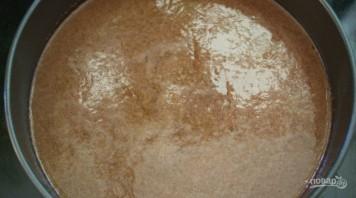 Шоколадный манник с карамельными яблоками - фото шаг 6